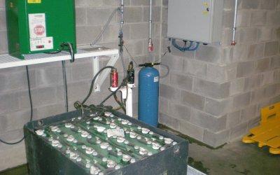 De l'eau pour vos batteries de traction